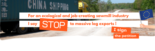 Petition against log exports